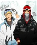 :Amour Sucre: Skier Boyfriends (?) by BTRumple