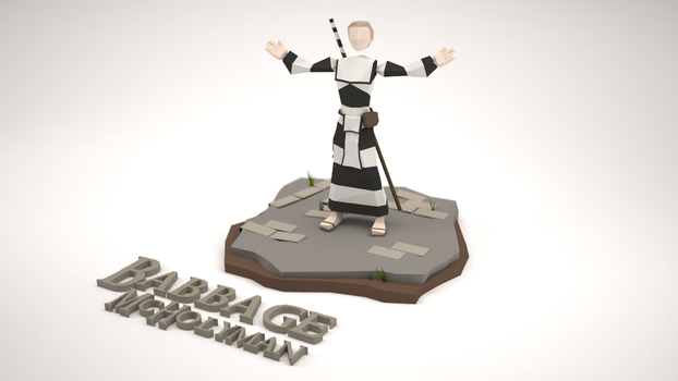 Low Poly Character - Babbage McHolyman by MacLellan