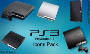 PS3 Icons Pack by davinci1993