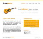 New project - for music shop by bisek0