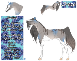 MT Horse I-026 for chantalcloud by 11IceDragon11