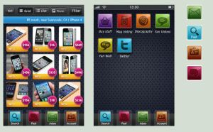 iPhone icon Theme by radzad