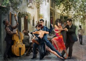 Tango in Paris by Konsuello