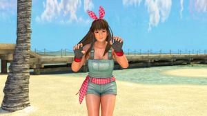 Hitomi Cute Overall by Deluwyrn