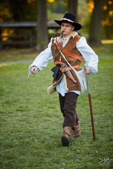 Country crook - De la Bete LARP by Krushak-Dagra