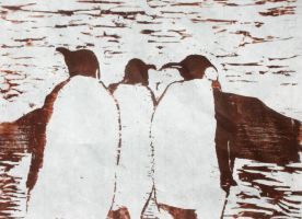 Penguins by decyf3r