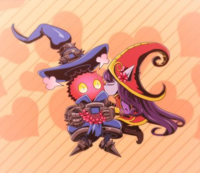 Countdown no.71 - lulu and Veigar by A39