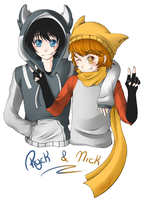 .:Ryck y Nick - Gift:. by PuRe-LOVE-G-S