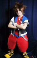 Sora-Kingdom Hearts by Qwaseer