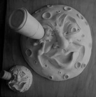 A Sculpt of The Moon (George Melies) by souffle-etc