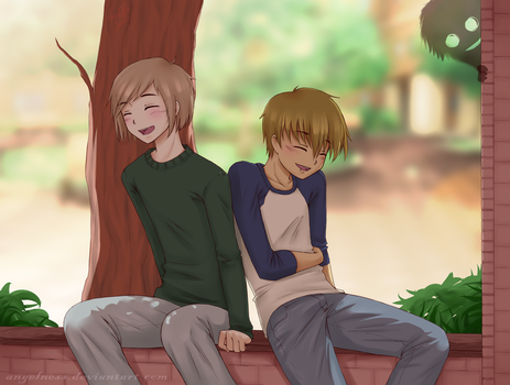 CHA - Sy and Connor by AngelNess