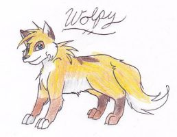 Fan art for Skailla, Wolpy by Tsukasa-FanTc