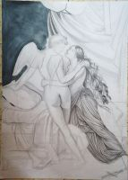 Cupid and Psyche project III by munchengirl