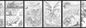 Murderthane pencils pg 1-6 by VASS-comics