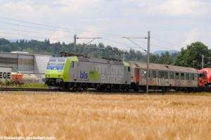 BLS Re 485 014-5 by SwissTrain