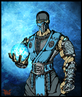 Sub-Zero (Colors) by villithorne