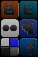 Social Network Icon Set by Lucifer666mantus