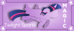 Twilight Sparkle- Element of Magic by MrCbleck