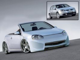Volkswagen Golf V 2.0 by caingoe