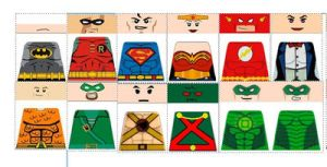 Custom LEGO DC Justice League Decals by Digger318