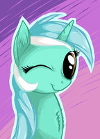 Lyra Winking (updated + HQ version in description) by TheGarry-D