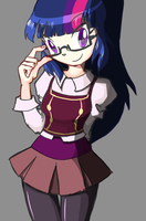 Human Twilight Sparkle by rvceric