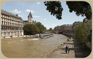 Paris in spring postcard by aglezerman