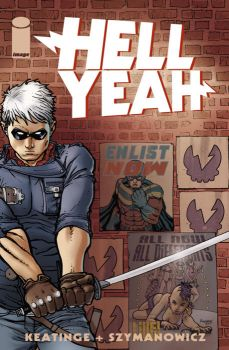 Hell Yeah issue 1 cover by astrobrain