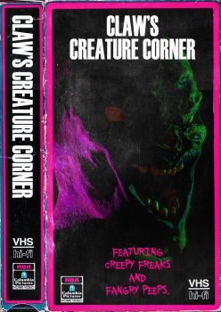 Sculptris #6 ? Horror VHS Mockup by TheClawTheySay