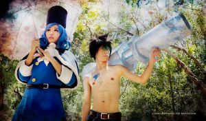 Fairy Tail: Rain and Ice by gya-inc