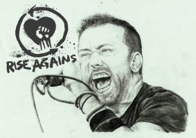 RISE AGAINST-Tim Mcilrath by zakValkyrie