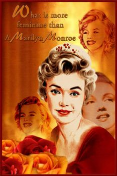 Marilyn Monroe by worldofcreativeart