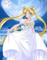 Moonlight Love - Princess Serenity by Shinta-Girl