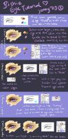 TUTORIAL (Paint Tool SAI): Bishie Anime Male Eye by naisei