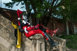 DCUO Harley Quinn - Relax by Enasni-V