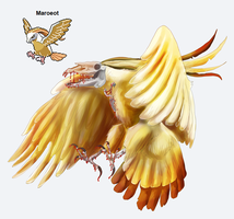 PokeFusion - Maroeot by Pseudo-Strawberry