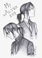 My wAlter ego by Alu-Fraulein