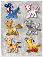 CHEAP ! Pup adopts batch #3 (2 LEFT, LOWER PRICES) by AR-ameth