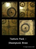 Texture Pack - Steampunk Brass by rockgem