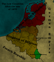 Alternate history Belgium 1871 by HeerSander