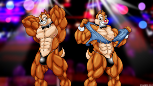 Chip And Dale For Real - SFW. by Atariboy2600
