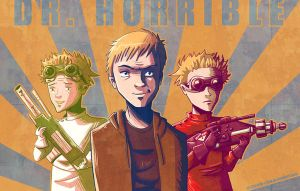 Dr. Horrible on the rise by chibichibi-chan