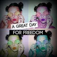 A Great Day For Freedom | edicion sensilla (#3) by Burn-the-life
