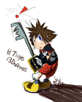 7l13d - First Sora Saturday by SteadfastHeartofGold