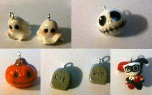 Halloween Charms by MortalFate