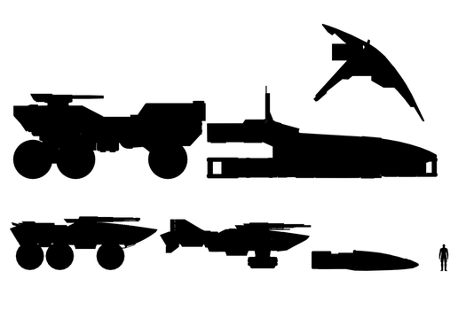 Mass Effect 2, Ship Comparison. by Troodon80