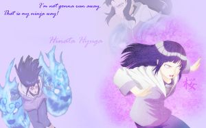Hinata wallpaper - Stronger then ever by HeroAkemi