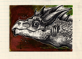 ACEO for Drrrakonis by JekJekyll