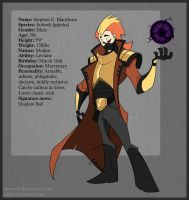 Stephen - Pokejinka ref by CorNocte