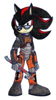 Shadow the Hedgehog - Gordon Freeman by Xaolin26